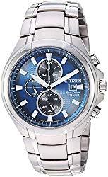 Citizen Men's 'Eco-Drive' Quartz Titanium Casual Watch, Color:Silver-Toned (Model: CA0700-51L)