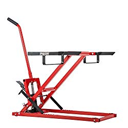 Pro Lift Lawn Mower Jack Lift with 300 Lbs Capacity for Tractors and Zero Turn Lawn Mowers