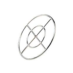 Stanbroil 18″ Round Fire Pit Burner Ring, 304 Series Stainless Steel, BTU 147,000 Max
