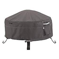 Classic Accessories Ravenna Round Fire Pit/Table Cover, 36-Inch