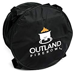Outland Firebowl UV and Weather Resistant 762 Cypress Carry Bag, Fits 21-Inch Diameter Outdoor Portable Propane Gas Fire Pit