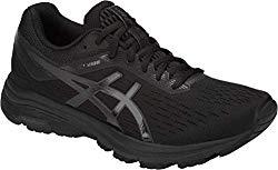 ASICS GT-1000 7 Women's Running Shoe, Black/Phantom, 9.5 M US