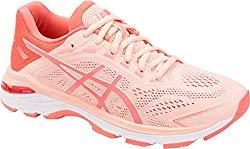 ASICS GT-2000 7 Women's Running Shoe, Baked Pink/Papaya, 10.5 M US