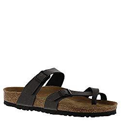 Birkenstock Mayari Vegan Women's Sandal 40 M EU Anthracite