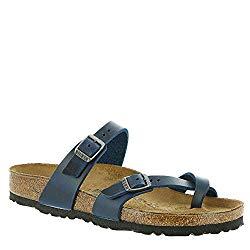 Birkenstock Women's, Mayari Thong Sandals Blue 4.1 M