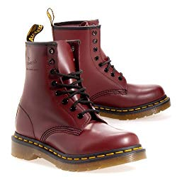 Dr. Martens Men's 1460 Classic Boot (7 F(M) UK, Cherry Red)