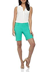 Rekucci Women's Ease in to Comfort Fit Perfection Modern Office Short (4,Aqua)