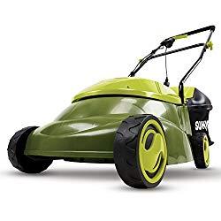 Sun Joe MJ401E-PRO 13 Amp Electric Lawn Mower w/Side Discharge Chute, 14″