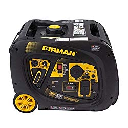 Firman W03082 3300/3000 Watt Electric Start Gas Portable Generator cETL and CARB Certified, Black