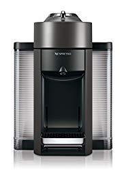 Nespresso Vertuo Evoluo Coffee and Espresso Machine by De'Longhi, Graphite Metal