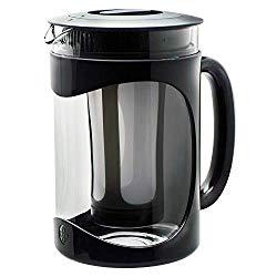 Primula Burke Cold Brew Iced Coffee Maker – Glass Carafe 1.6 Qt (51.2 oz), Black