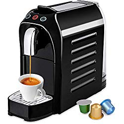 Best Choice Products Premium Automatic Programmable Espresso Single-Serve Coffee Maker Machine w/Interchangeable Side Panels, Nespresso Pod Compatibility, 2 Brewer Settings, Energy Efficiency Mode