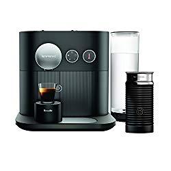 Breville-Nespresso USA BES750BLK Nespresso Expert by Breville with Aeroccino, Black Espresso & Coffee Maker,