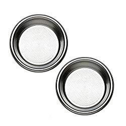 Rancilio 18 gram Double Portafilter Insert Basket – OEM Part (40-100-103) Redesigned 2014 (2)