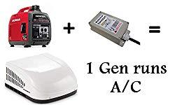 Hutch Mountain Run AC with 1 Generator – Microair Easy Start Technology – GenCool