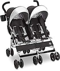 Jeep Scout Double Stroller, Charcoal Galaxy