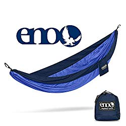 ENO – Eagles Nest Outfitters SingleNest Hammock, Portable Hammock for One, Navy/Royal
