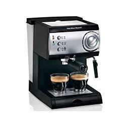 Hamilton Beach Espresso Maker powerful 15-bar Italian pump