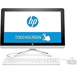 2018 Newest HP All-in-One 21.5″ Full HD IPS Touchscreen Desktop PC, Intel Pentium J3710 Quad-Core Processor 4GB RAM 1TB HDD HDMI DVD WiFi Webcam Keyboard + Mouse Windows 10 – Snow White