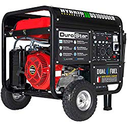 DuroStar Hybrid Dual Fuel DS10000EH 10,000-Watt Portable Generator