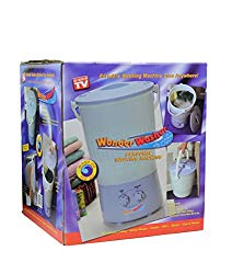As Seen On TV Wonder Washer – a Portable Mini Clothes Washing Machine That goes Anywhere – Ideal for Cleaning Clothes On The Go – 10 Liter Capacity