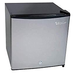 EdgeStar 1.1 Cu. Ft. Convertible Refrigerator or Freezer w/Lock – Stainless Steel