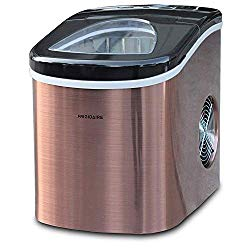 Frigidaire Counter top Portable, 26 lb per Day Nugget Ice Maker Machine (Copper Stnls)