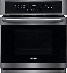 Frigidaire FGEW2766UD 27 Inch Smudge Proof Black Stainless Steel Electric Single Wall Convection Oven