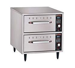 Hatco HDW-2N Narrow Two Drawer Warmer – 120V, 900W – Freestanding Drawer Food Warmers-HDW-2N