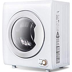 Sentern 2.65 Cu.Ft Compact Laundry Dryer – 9 LBS Capacity Portable Clothes Dryer with 1400W Drying Power (9 LBS)
