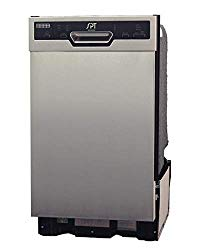 SPT SD-9254SS: Energy Star 18 w/Heated Drying – Stainless Built-in Dishwasher, Gray