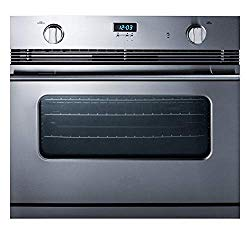 Summit SGWO30SS 30 Inch Wide 3 Cu. Ft. Single Gas Oven with Convection