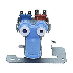WR57X10032 Inlet Water Valve with Double Solenoid by Primeswift Compatible with GE General Electric Refrigerator WR57X10051,AP3672839,PS901314