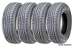 4 New Premium Freedom Hauler Trailer Tires ST 215/75R14 8PR Load Range D Steel Belted Radial