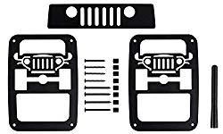BMS Jeep Wrangler JK/JKU Tail Light Guards (JPF3S)