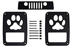 BMS Jeep Wrangler JK/JKU Tail Light Guards (PAW3)