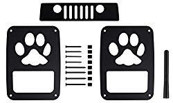 BMS Jeep Wrangler JK/JKU Tail Light Guards (PAW3S)