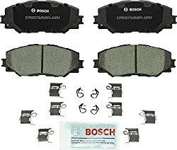 Bosch BC1210 QuietCast Premium Ceramic Disc Brake Pad Set For: Lexus HS250h; Pontiac Vibe; Scion xB, xD; Toyota Corolla, Matrix, Prius V, RAV4, Front