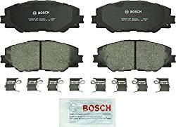 Bosch BC1211 QuietCast Premium Ceramic Disc Brake Pad Set For Pontiac: 2009-10 Vibe; Scion: 2015 iM, 2011-16 tC; Toyota: 2017 Corolla iM, 2009-13 Matrix, 2016-17 Mirai, 2006-18 RAV4; Front