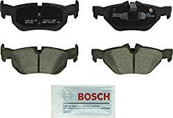 Bosch BC1267 QuietCast Premium Ceramic Disc Brake Pad Set For Select BMW 1 Series M, 128i, 323i, 328i, 328i xDrive, 328xi, X1; Rear