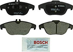 Bosch BC1341 QuietCast Premium Ceramic Disc Brake Pad Set For Select Mercedes-Benz C180, C200, C230, C250, C300, C350, E350, E400, E550, GLK250, GLK300, GLK350; Rear
