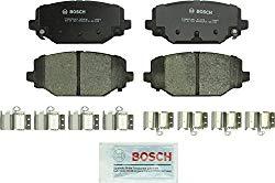 Bosch BC1596 QuietCast Premium Ceramic Disc Brake Pad Set For Select Chrysler Town & Country; Dodge Grand Caravan, Journey; Ram C/V; Volkswagen Routan; Rear