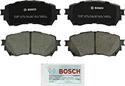 Bosch BC1711 QuietCast Premium Ceramic Disc Brake Pad Set For 2014-2017 Mazda 6; Front