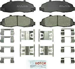 Bosch BC679 QuietCast Premium Ceramic Disc Brake Pad Set For Ford: 1997-2003 F-150, 2004 F-150 Heritage; Lincoln: 2002 Blackwood; Front
