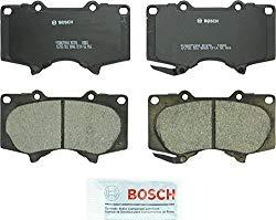 Bosch BC976 QuietCast Premium Ceramic Disc Brake Pad Set For: Lexus GX460, GX470; Toyota 4Runner, FJ Cruiser, Sequoia, Tacoma, Tundra, Front