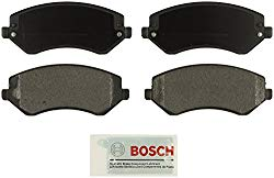 Bosch BE856A Blue Disc Brake Pad Set for 2002-07 Jeep Liberty – FRONT