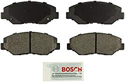 Bosch BE914 Blue Disc Brake Pad Set for Select Acura ILX and Honda Accord, Civic, CR-V, Element, and Fit Vehicles – FRONT