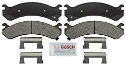 Bosch BSD784 SevereDuty for Select Cadillac DeVille, DTS, Chevrolet Avalanche, Express, Silverado, Suburban, GMC Savana, Sierra, Yukon XL, Hummer H2-FRONT Severe Duty Disc Brake Pad Set