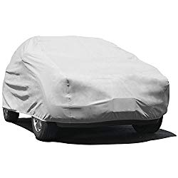 Budge UB-1 Lite SUV Cover Gray Size U1: Fits S.U.Vs up to 15'5″ Scratch Resistant, Breathable, Dustproof, Dirtproof
