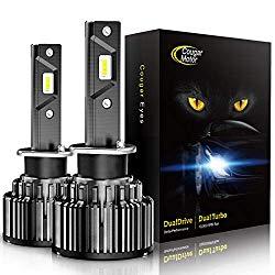 Cougar Motor LED Headlight Bulbs Conversion Kit – 880 881 (893, 899) -10000Lm 6000K Cool White CREE